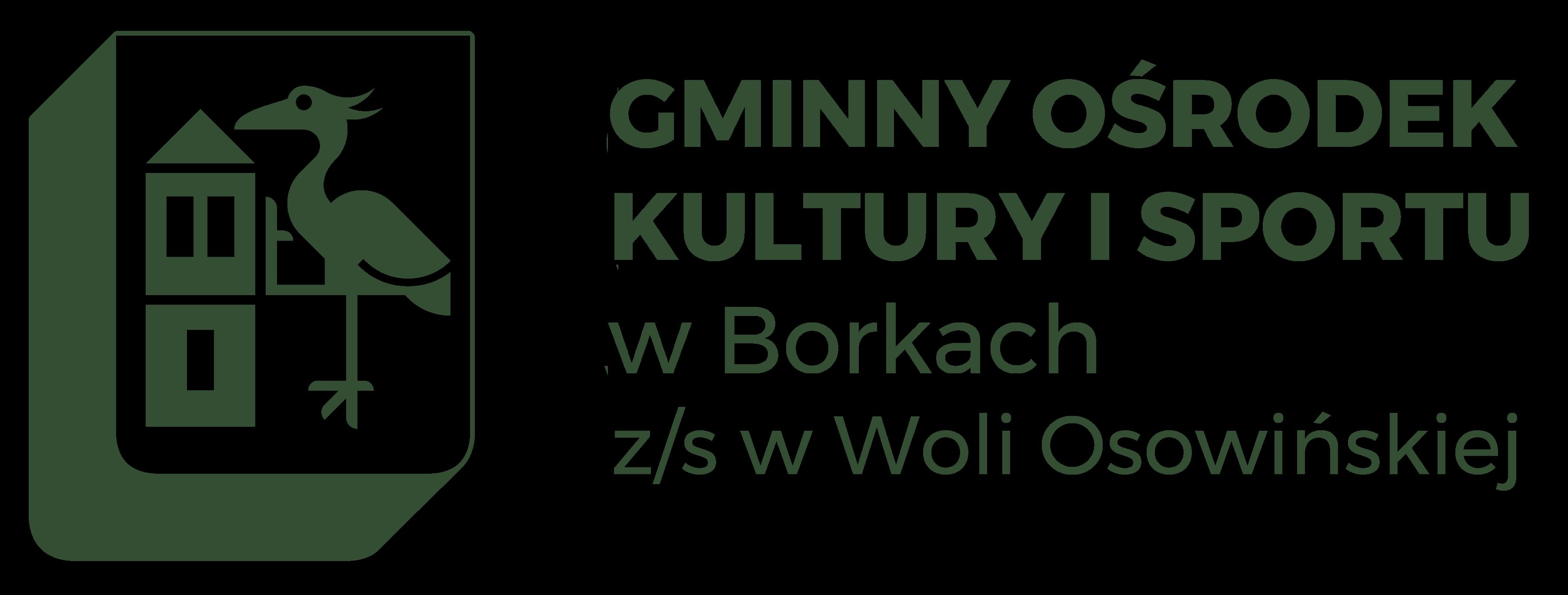 Gminny Ośrodek Kultury i Sportu w Borkach z/s w Woli Osowińskiej
