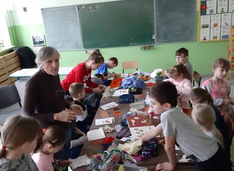 Wiosenne Spotkania z Panią Helenką – Warsztaty z GOKiS