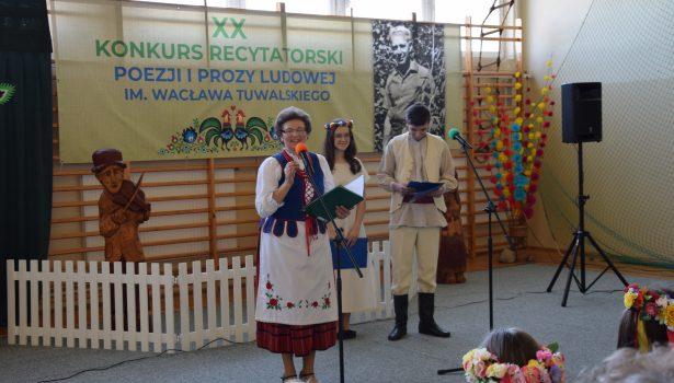 XX Międzywojewódzki Konkurs Recytatorski Poezji i Prozy Ludowej im.Wacława Tuwalskiego