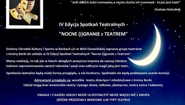 Nocne iGranie z Teatrem