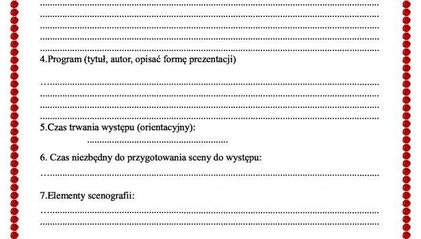 """III Gminny Festiwal Przedszkolaka """"Borkowiaczek"""""""