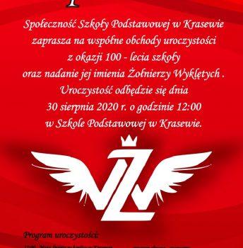 100-lecie Szkoły Podstawowej w Krasewie