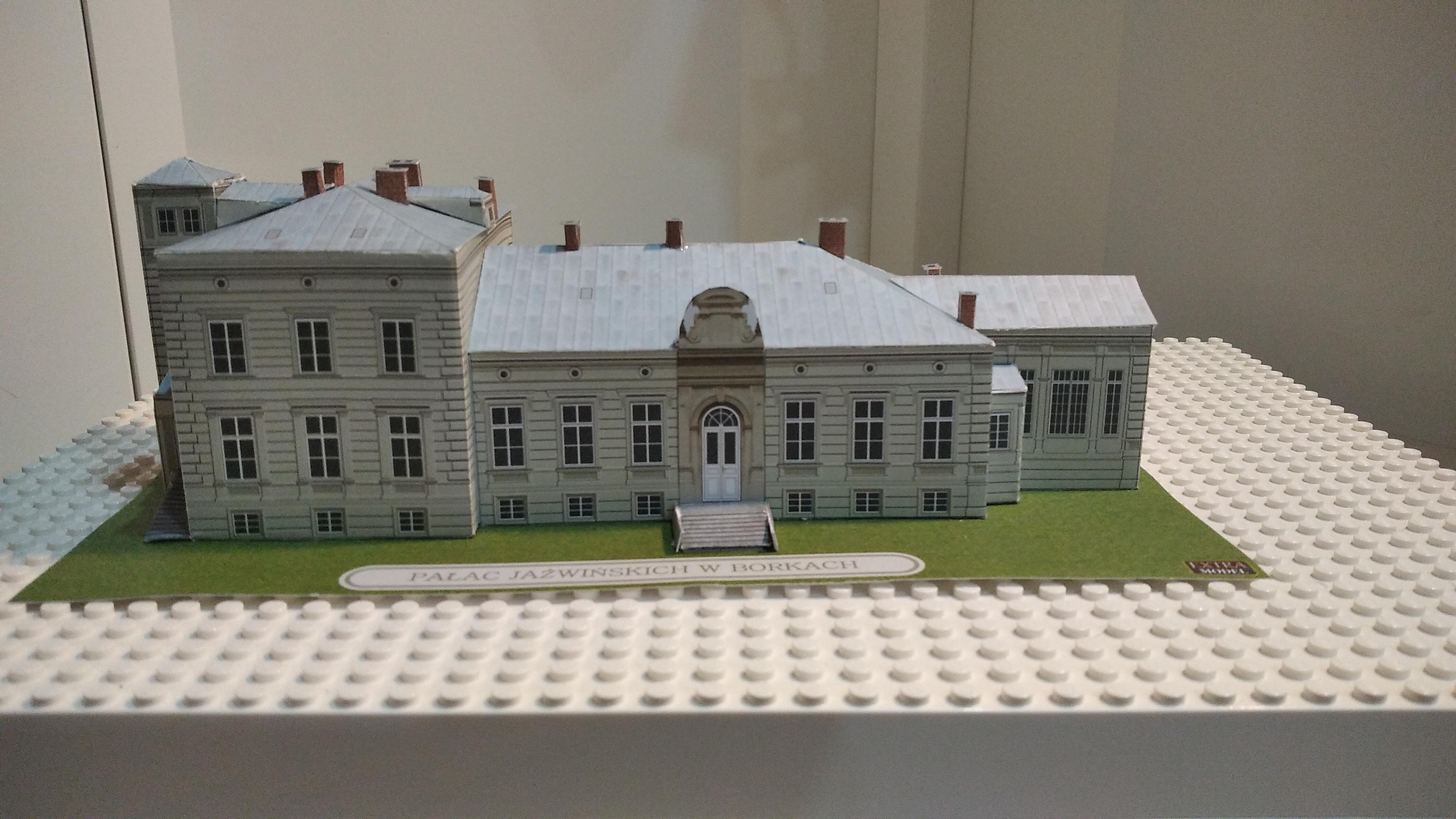 """Rozstrzygnięcie Konkursu Modelarskiego """"Model pałacu Jaźwińskich – dzieło naszych rąk"""""""