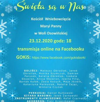 """I Koncert Kolęd i Pastorałek """"Święta są w Nas"""""""